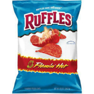 Ruffle's Flamin Hot Potato Chips