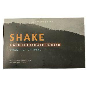 Boulder Beer Shake Chocolate Porter • 6pk Can