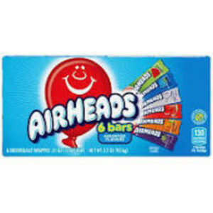 Airheads Assorted Flavors Chewy Candy Bar