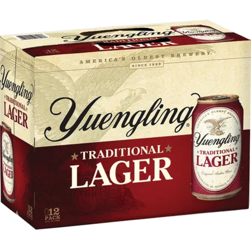 Yuengling Lager Traditional Box