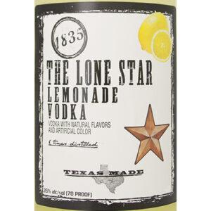 Lone Star Texas Vodka • Lemonade