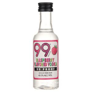 •99• Raspberry Vodka • 50ml (Each)