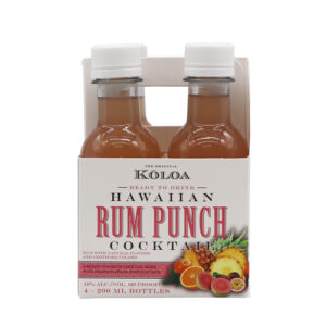 Koloa Hawaiian Cocktails • Rum Punch 4pk-200ml