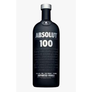 Absolut Vodka • 100 Proof (Black Bottle)