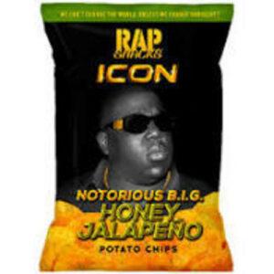 Rap Snacks Chips • Notorious Big BBQ