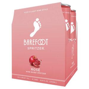 Barefoot Refresh Rose Spritzer 4pk