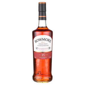 Bowmore Darkest 15 Year Old Islay Old Single Malt Scotch Whisky