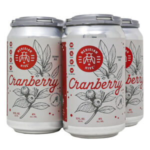 Meridian Hive Cranberry Mead • Cans