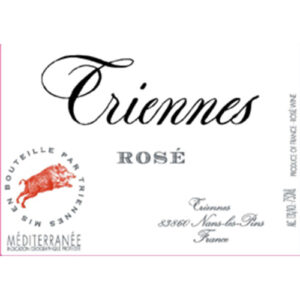 Domaine De Triennes Rose Rare Rose Blend