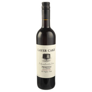 Layer Cake One Hundred Percent Hand Crafted Puglia IGT Primitivo