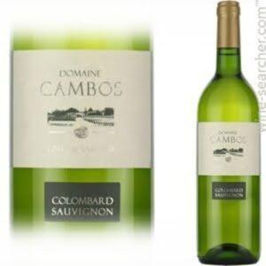 Dom Cambos Cotes Gascogne Columbard / Sauvignon