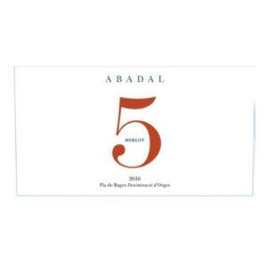 Abadal 5 Merlot (6 / Case)