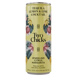 Two Chicks Cocktails • Citrus Margarita 4pk-355ml