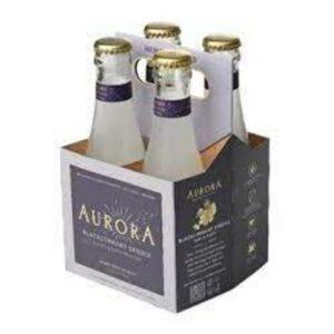 Aurora Blackcurrant Spruce Sparkling Hemp Beverage 25mg Cbd