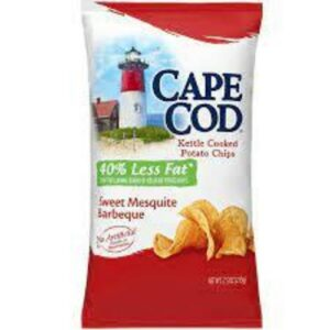 Cape Cod Chips Sweet Mesquite BBQ 40% Less Fat