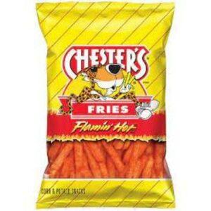 Cheetos Crunchy Flamin Hot Cheese Flavored Snacks