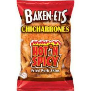 Bakenets Hot & Spicy Fried Pork Skins