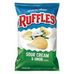 Ruffle's Sour Cream & Onion Potato Chips