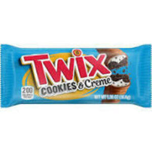 Twix Cookies & Creme Chocolate Cookies Candy Bar