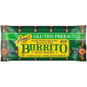 Amy's Tex-mex Beans & Rice Frozen Burrito