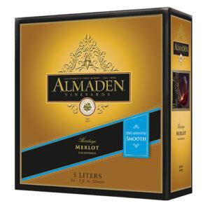 Almaden Merlot Box 4 / Case