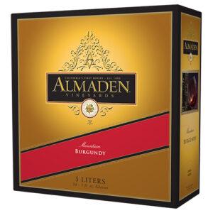 Almaden Burgundy Box 4 / Case
