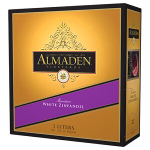 Almaden White Zinfandel Box 4 / Case
