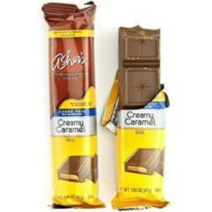 Asher Sugar Free Vanillan Milk Chocolate Candy Bar