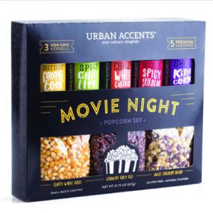Urban Accents Movie Night Popcorn Set