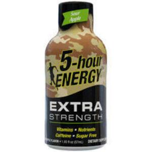5-hour Sour Apple Extra Strength Energy Shot