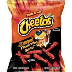 Cheetos Crunchy Xxtra Hot Cheese Flavored Snacks