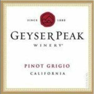 Geyser Peak Pinot Grigio California