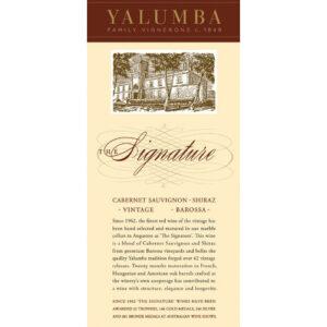 """Yalumba Cabernetshiraz """"the Signature"""" (6pk)"""