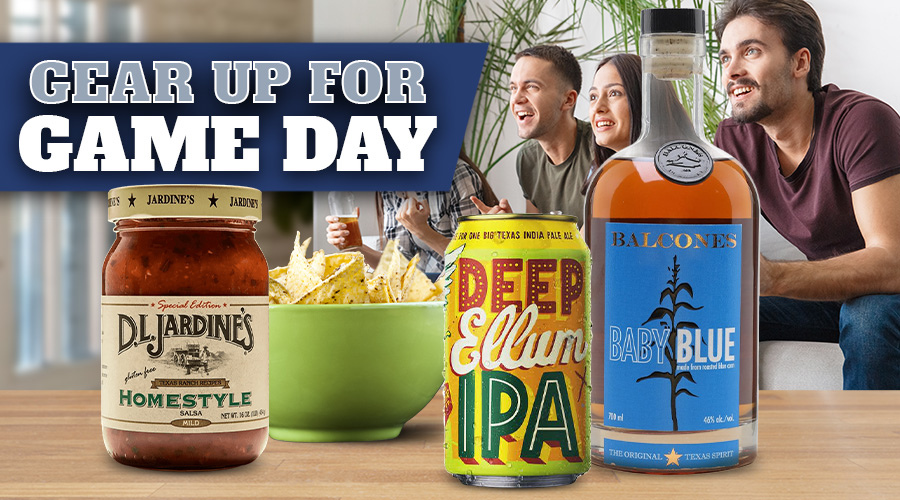 Game Day At Home - Spec's Wines, Spirits & Finer Foods