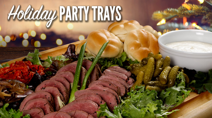Holiday Party Tray From Spec's Wines, Spirits & Finer Foods