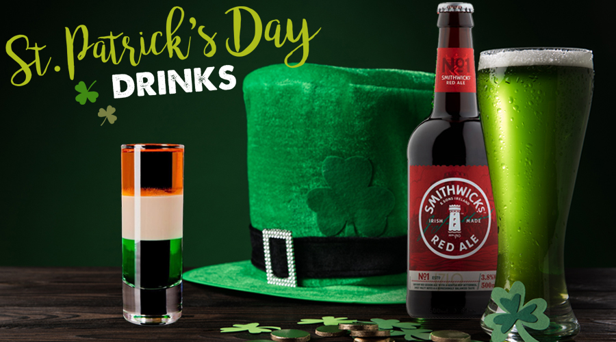 St. Patrick's Day Party Drinks