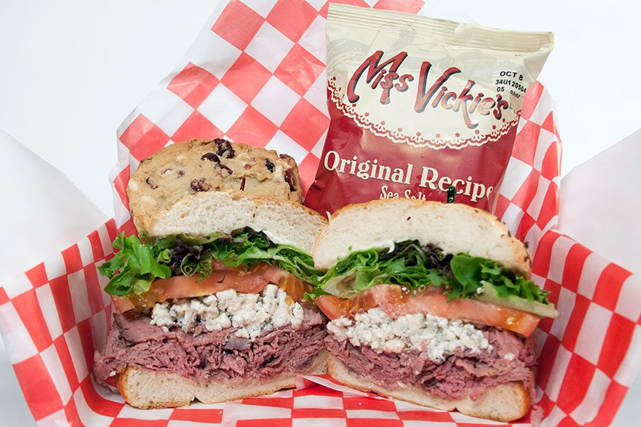 Spec's Party Trays - Roasted Beef & Bleu Cheese Sandwich Box