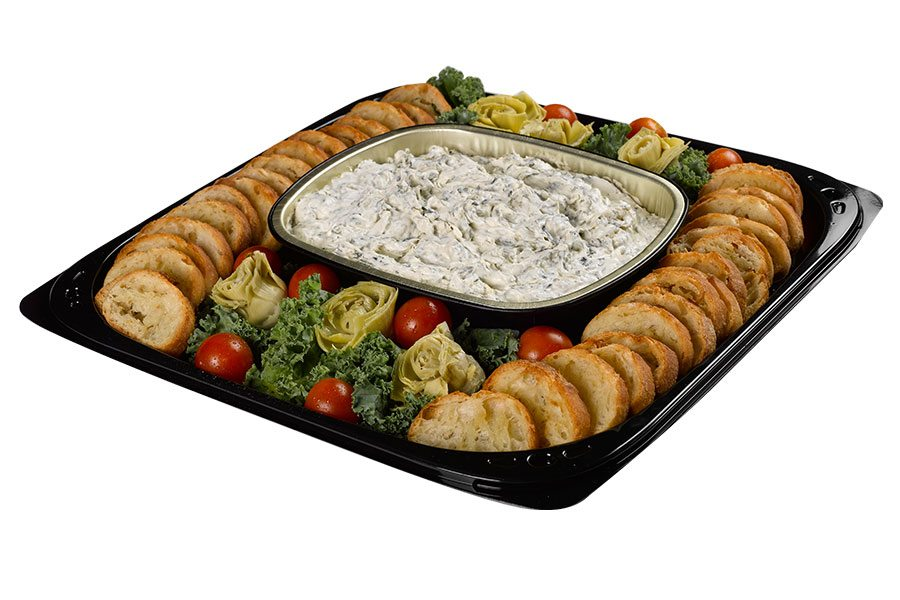 Spec's Party Trays - Spinach & Artichoke Dip
