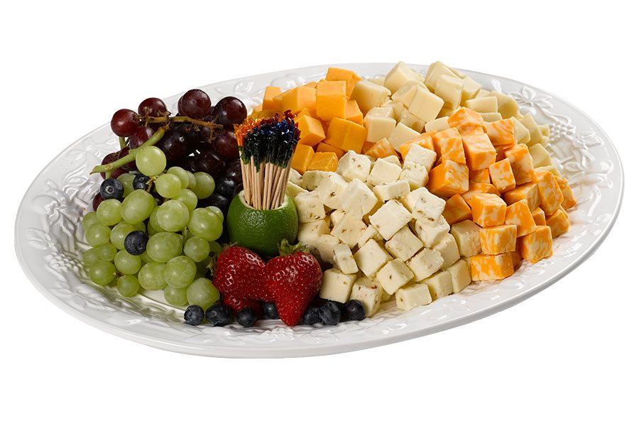 Spec's Party Trays - Cubed Cheese & Fruit