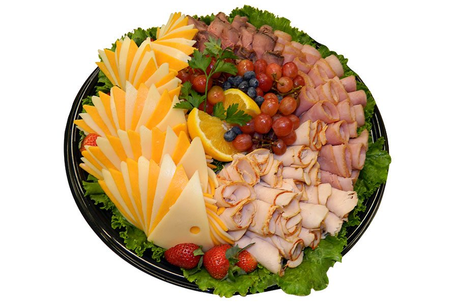 Spec's Party Trays - Sliced Meat & Cheese