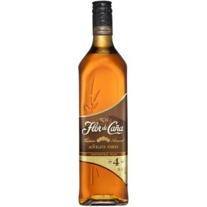 Ron Flor De Cana Anejo Oro 4 Year Old Rum