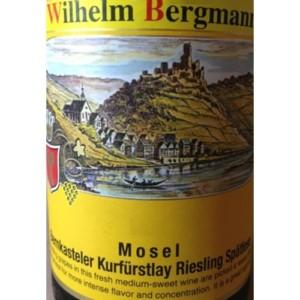 Wilhelm Bergmann Spatlese Bernkasteler Kurfurstlay Riesling