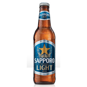 Sapporo Light • 6pk Nbr