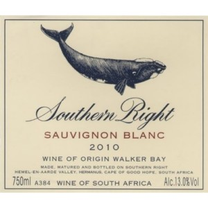 Southern Right Sauvignon Blanc South Africa