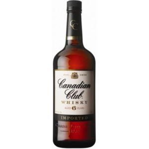 Canadian Club 6 Year Old Canadian Whisky