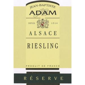 Jean Baptiste Adam Riesling Reserve