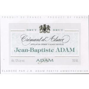Jean Baptiste Adam Cremant D'alsace Brut