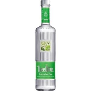 Three Olives Vodka • Cucumber Lime 6 / Case