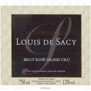 Louis De Sacy Brut Rose Grand Cru Champagne Rose Champagne Blend