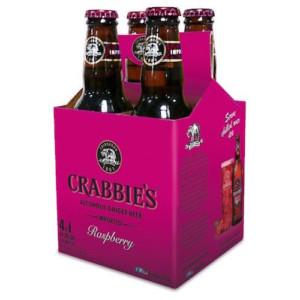 Crabbies Alcoholic Raspberry Ginger Beer • 4pk Bottle